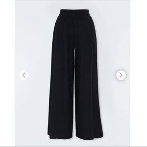 NWT Forever 21 linen-blend wide-leg pants